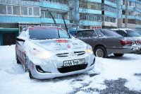 Испытание нового Kia Rio русской зимой