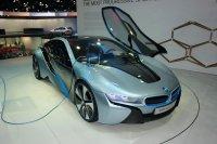 ����� ���������� ���������� BMW i8 ��������� � ������