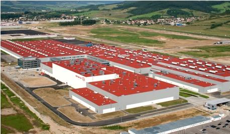 Завод Киа Zilina в Словакии