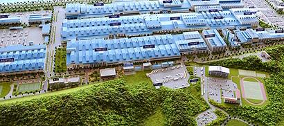 Завод Киа в Корее