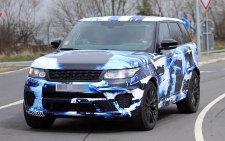 фотография нового Range Rover Sport