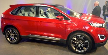 фото нового Ford Edge 2015