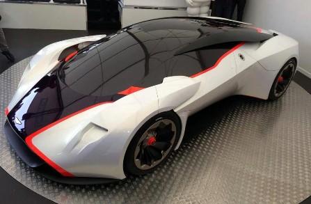 Фото Aston Martin DP100