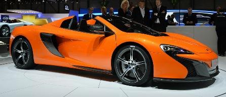 McLaren 650S GT3 на выставке