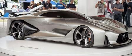Nissan Concept 2020 Vision Gran Turismo на выставке