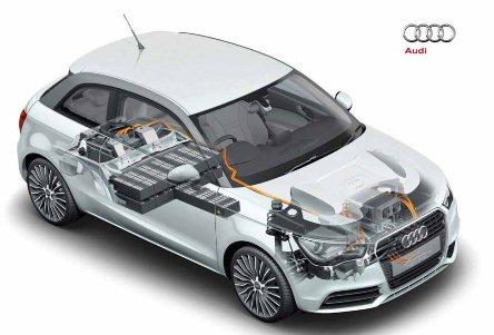 Гибридный автомобиль от Audi