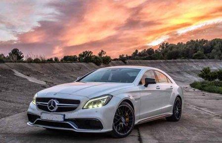 фотография нового Mercedes-Benz CLS 63 AMG
