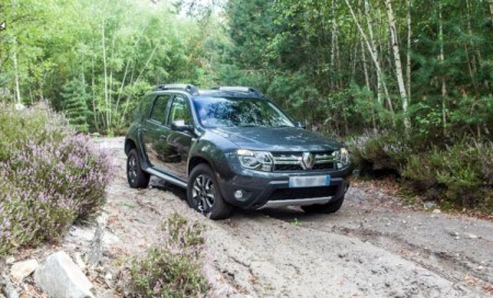 Renault Duster в лесу
