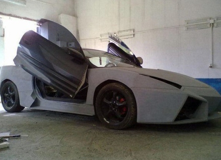 Mitsubishi переделаная в Lamborghini