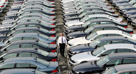 Падение рынка авто