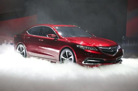 Новая Acura TLX
