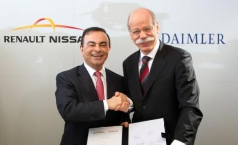 Директора Renault-Nissan Mercedes