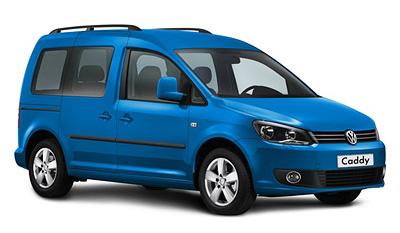 Электромобиль Volkswagen Caddy