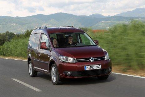 Volkswagen Caddy электромобиль