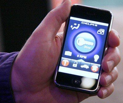 Управление авто с помощью iPhone