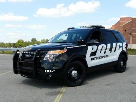 Внедорожник Форд для полиции