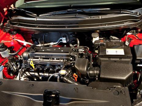 Бензиновый двигатель Киа Рио