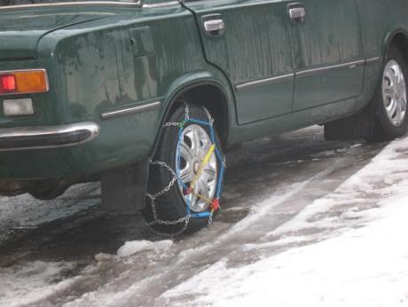 Цепи на колесах