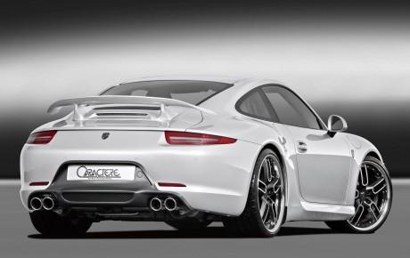 Porsche 911 вид сзади