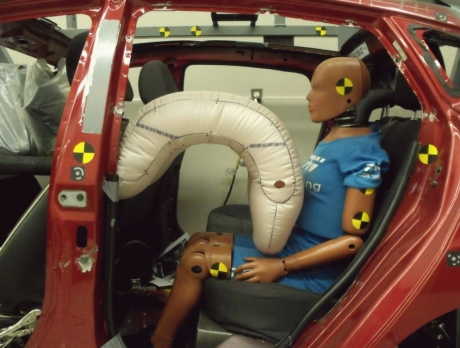 Подушки безопасности для задних пассажиров