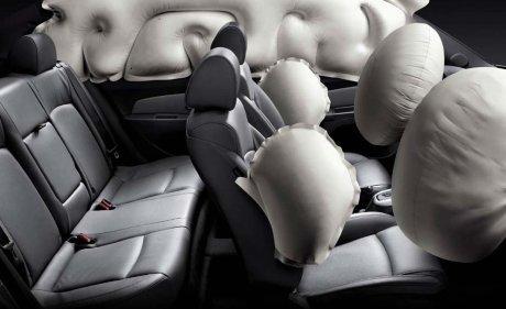 Подушки безопасности в автомобиле