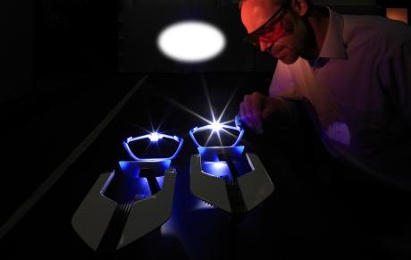 Новая разработка БМВ - лазерные фары