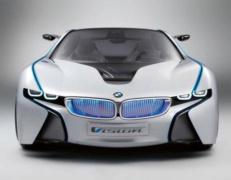 BMW с лазерными фарами