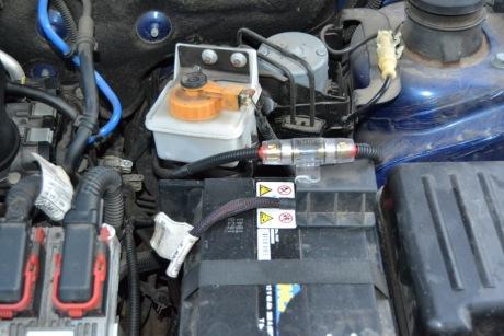 Подключение усилителя сабвуфера к аккумулятору