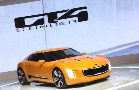 Официальная премьера Kia GT4-Stinger
