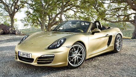 Новый Porsche Boxster 2016