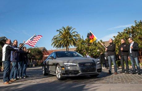 Audi A7 с автопилотом