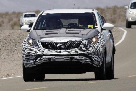 Kia Sportage нового поколения на испытаниях