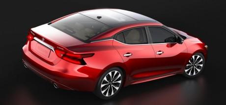 Nissan Maxima 2015 сзади