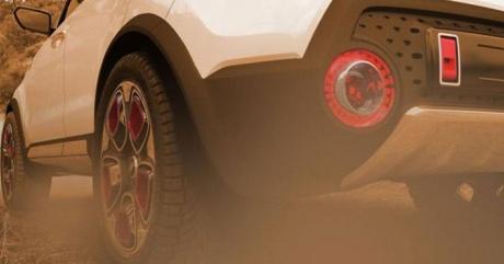 Задняя часть Kia Trailster