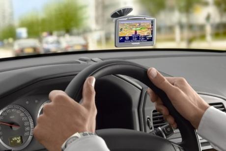 Фото автомобильного навигатора