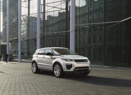 Рестайлинговый Range Rover Evoque 2015