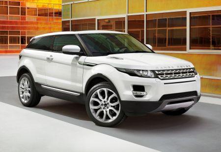 Обновленный Range Rover Evoque