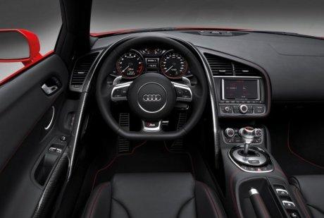 Интерьер Audi R8