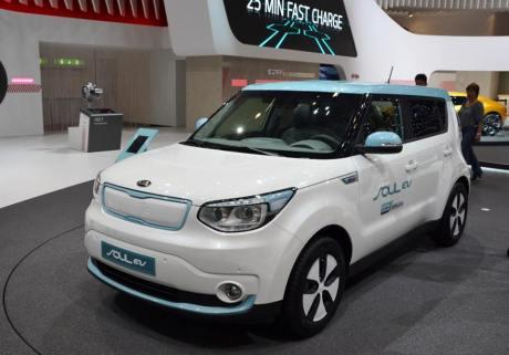 Kia Soul EV - лучший эко-автомобиль