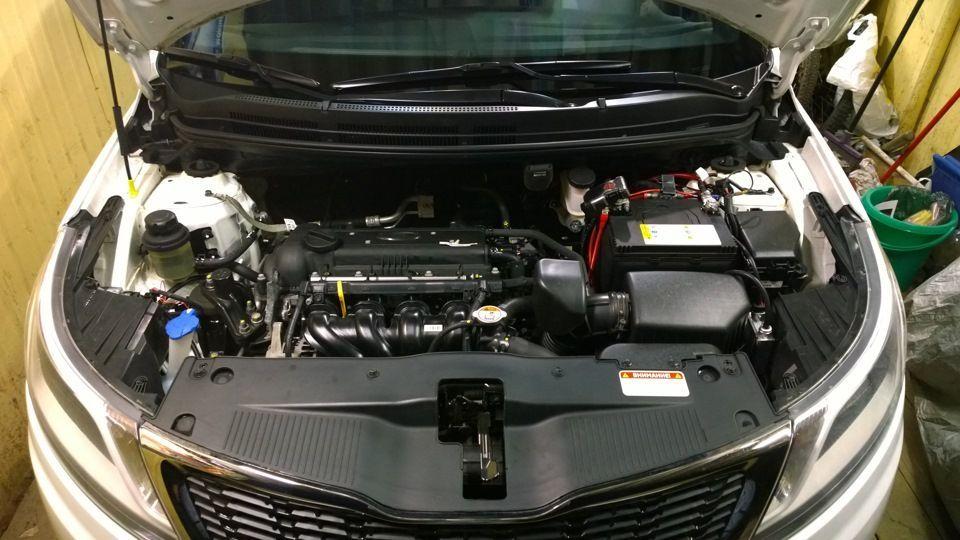 Характеристика двигателя Киа Рио - Технические характеристики двигателей киа рио