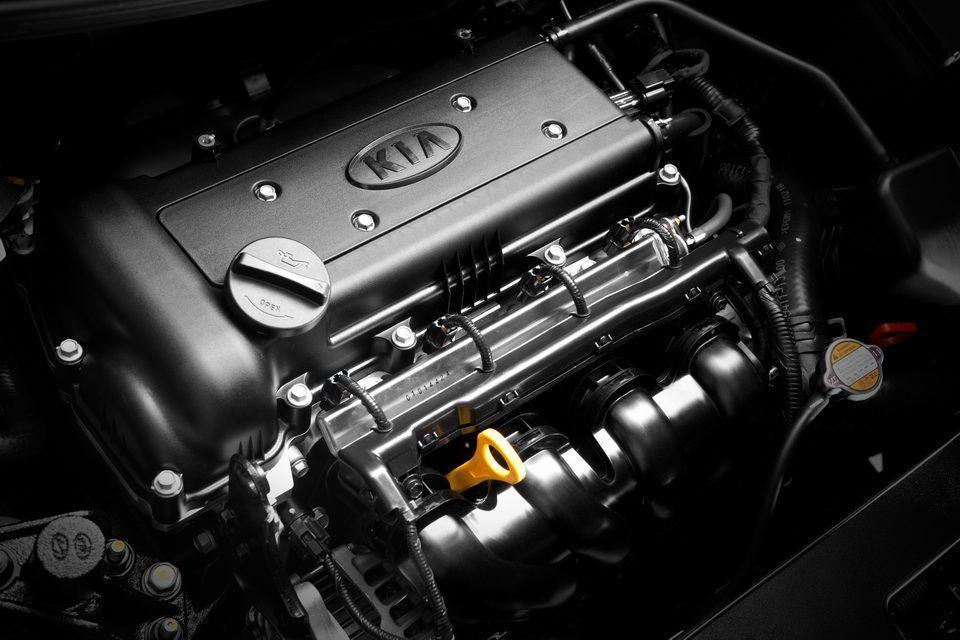 Двигатель kia rio 2012 года
